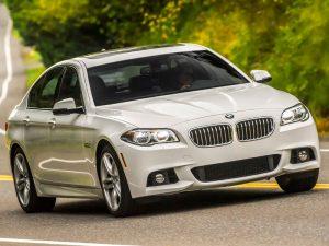 BMW 530 2016 white. Прокат элитных авто