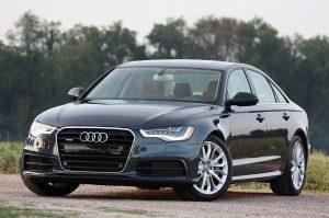 Audi A6 2017 black. Аренда люкс авто