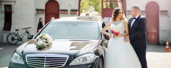 Mercedes S-klass wedding